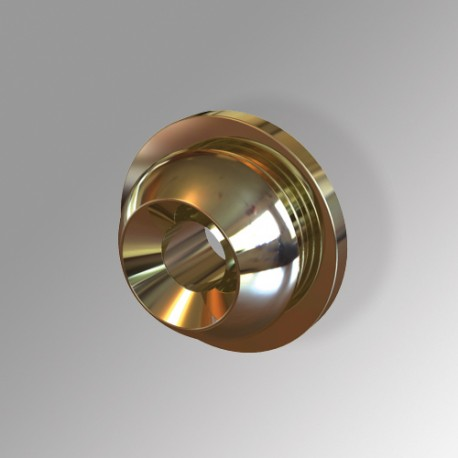 Mounting-clip, Brass
