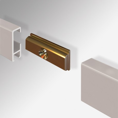 Clip Rail Straight-Connector