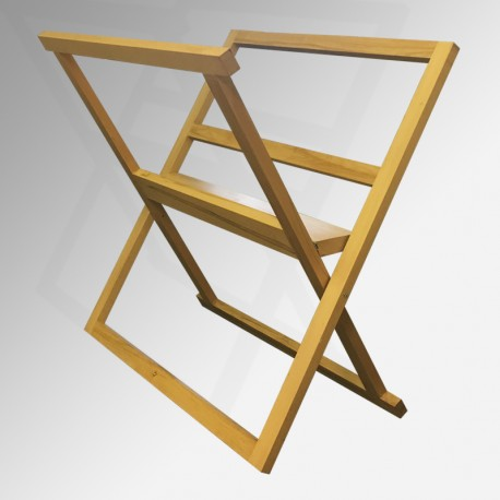 Wooden A0 Print Browser - Large Print Rack, Natural Finish