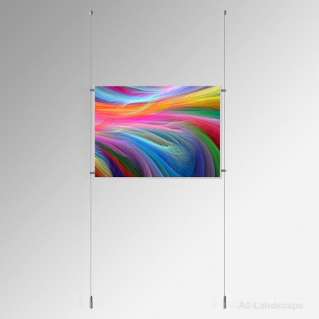 'A0' Ready-made Kits (Ceiling to Floor), 1 Landscape Panel