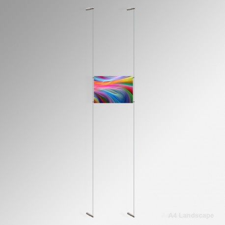 'A4' Ready-made Kits (Wall to Wall), 1 Landscape Panel