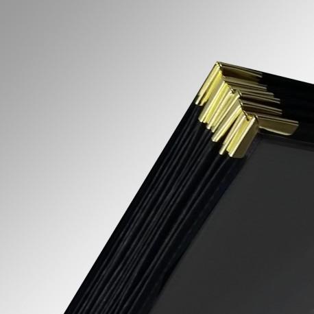 Print Browser Display & Storage Sleeve, with Black Correx