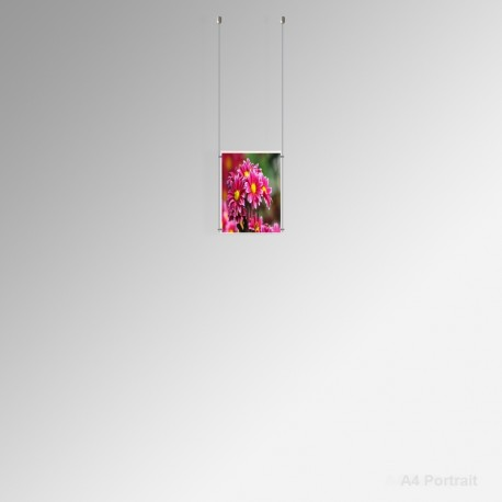 'A4' Ready-made Kits (Ceiling Fitting Only), 1 Portrait Panel