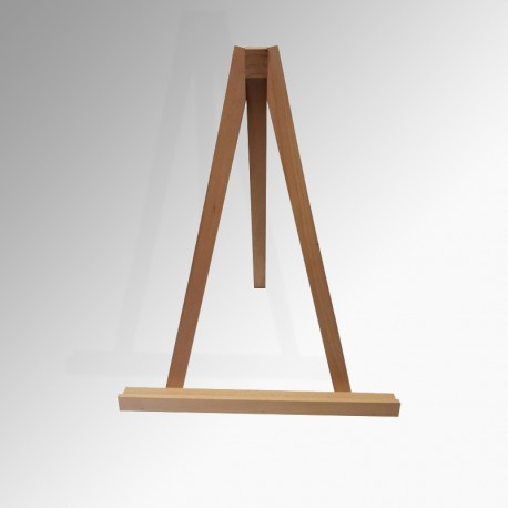 Greco 'Table' Easel 50cm (Wood), Natural Wood