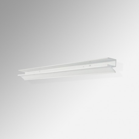 12MM Glass Shelf Bracket, White