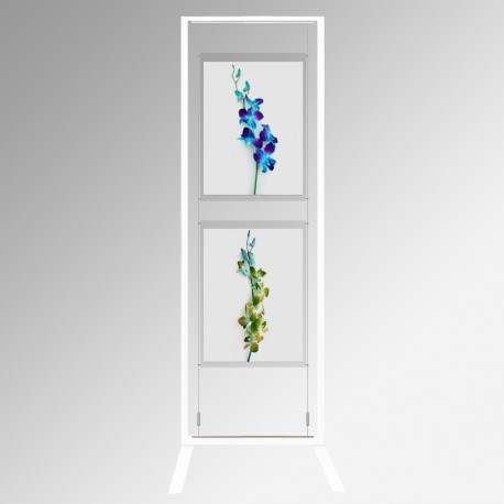 Display Panel Stand A2, White (x2)