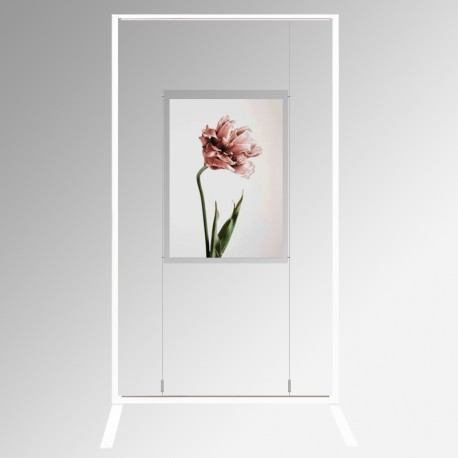 Display Panel Stand A1, White (x1)