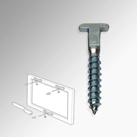 Anti-theft / Security 'T-screw' (Pack of 100)