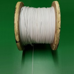 Steel Rope / Wire Cable (White)