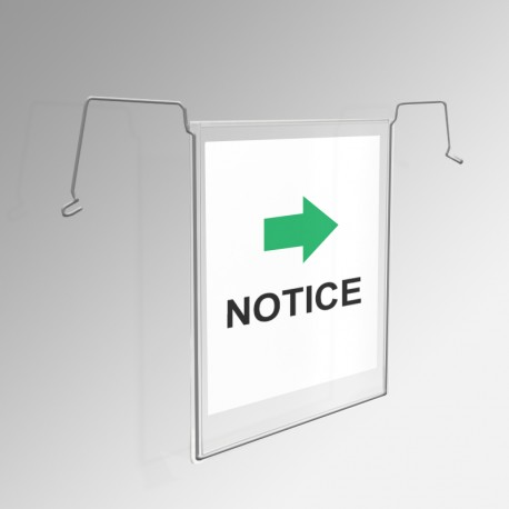 Gridwall / Mesh Document Holder (A4 Pocket)