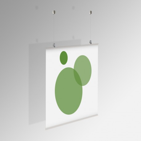 Poster Hanging Kit (for Strap Hangers)
