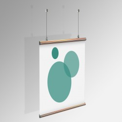 Poster Hanging Kit - EXTRA (for Aluminum Hangers)