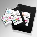 'Jet' Artwork Display Portfolio Sleeves (5 Pack)