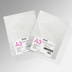Art Storage / Archival Sleeves (Pack of 10)