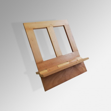 Arian Table Lectern, Natural Wood Finish