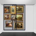 Grid / Mesh 'Sliding Wall' Hanging System