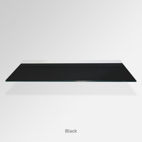 'Black' Colored Glass Shelf (Inc. Bracket)