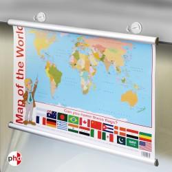 Magnet Poster Hanger Kit (Aluminium)