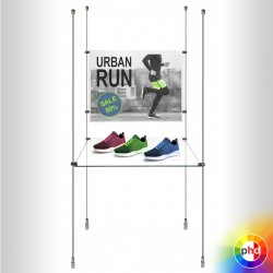 Retail Shelf & Poster Panel Display, Landscape