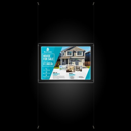 A1 LED Display Pocket & Wall to Wall Kit (Ready to Use / Complete System)