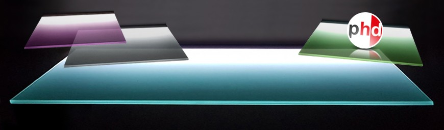 Lighting Glass Shelf