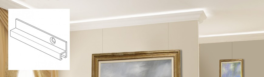 Cornice Deco Picture Hanging
