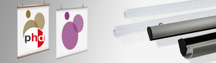 Poster Hangers & Binding Bar Sets